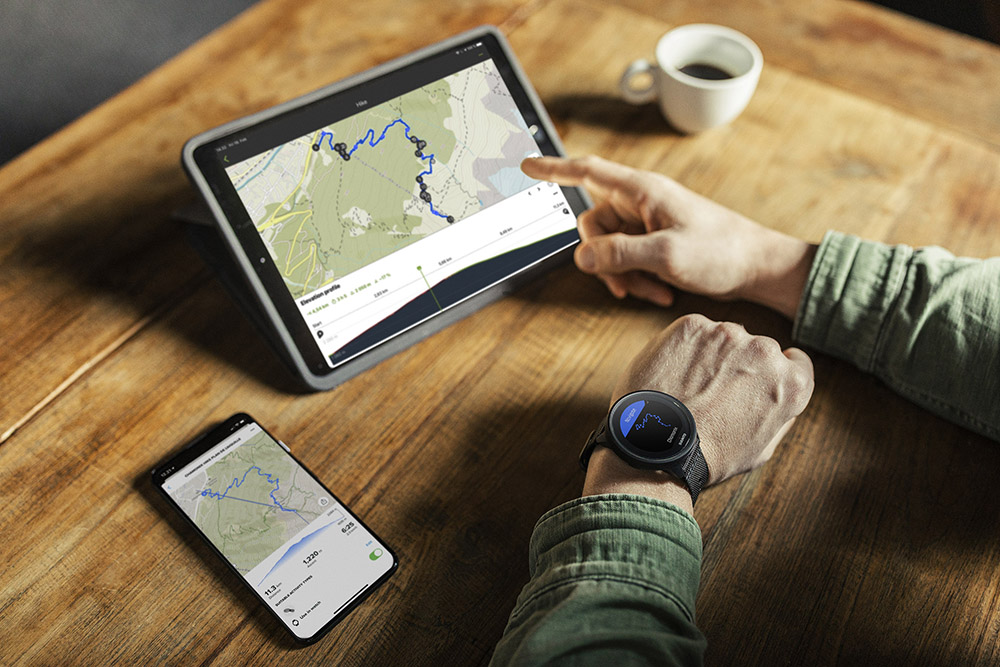Sync your routes automatically from komoot to Suunto for navigation.